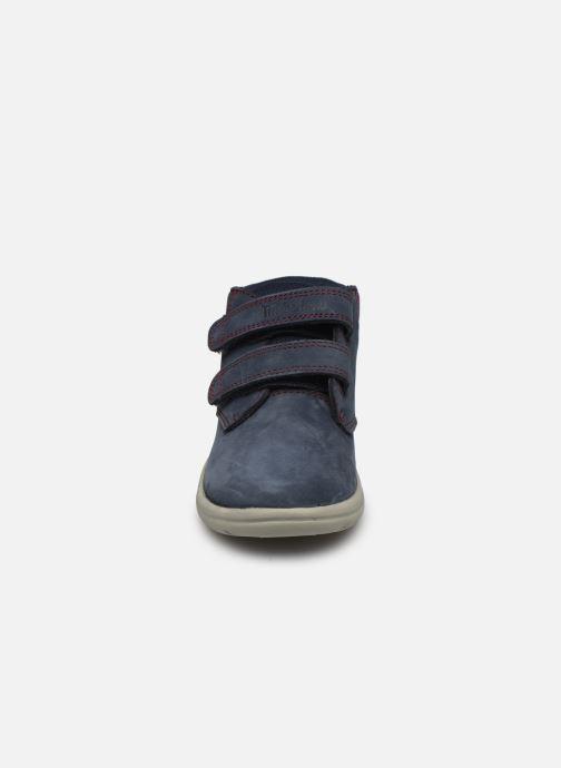 Bottines et boots Timberland Toddle Tracks H&L Boot Bleu vue portées chaussures