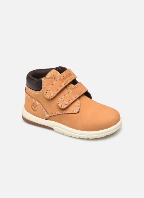 Bottines et boots Timberland Toddle Tracks H&L Boot Marron vue détail/paire