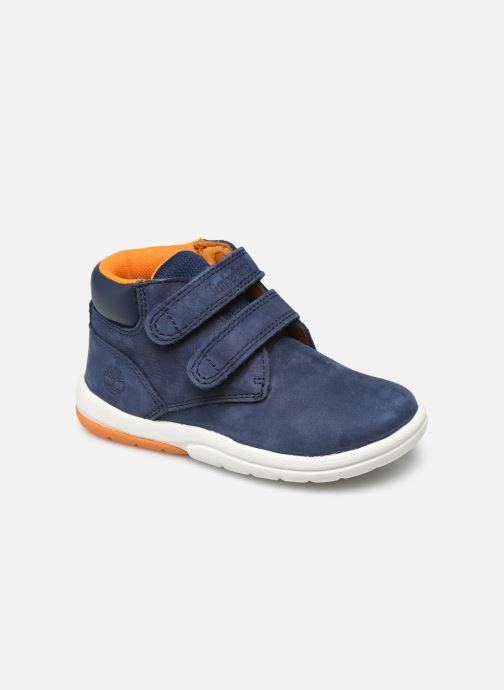 Bottines et boots Timberland Toddle Tracks H&L Boot Bleu vue détail/paire