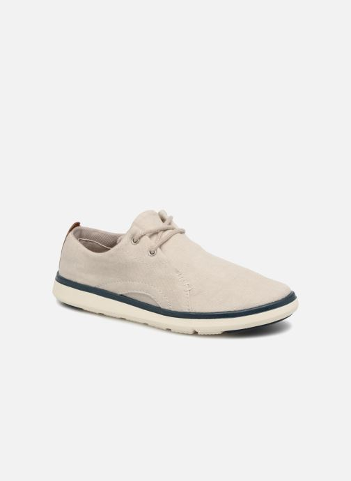 Trainers Timberland Gateway Pier Oxford Grey detailed view/ Pair view