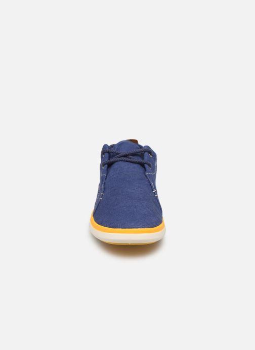 Baskets Timberland Gateway Pier Oxford Bleu vue portées chaussures