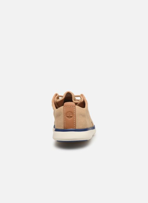 Baskets Timberland Gateway Pier Oxford Beige vue droite