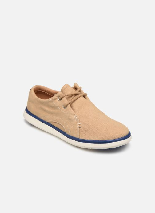 Baskets Timberland Gateway Pier Oxford Beige vue détail/paire