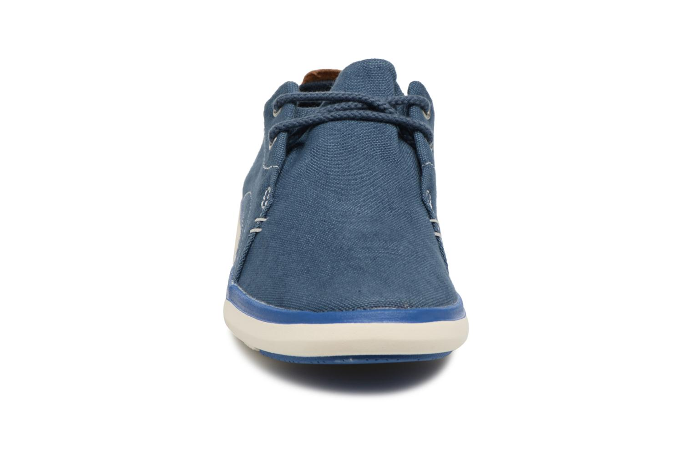 Sneaker Timberland Gateway Pier Oxford blau schuhe getragen