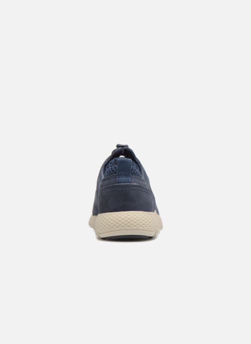 Baskets Timberland FlyRoam L/F Oxford Bleu vue droite