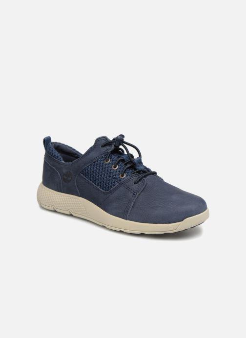 Baskets Timberland FlyRoam L/F Oxford Bleu vue détail/paire