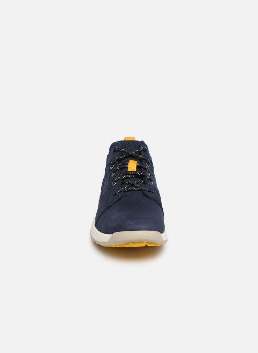 Baskets Timberland FlyRoam L/F Oxford Bleu vue portées chaussures