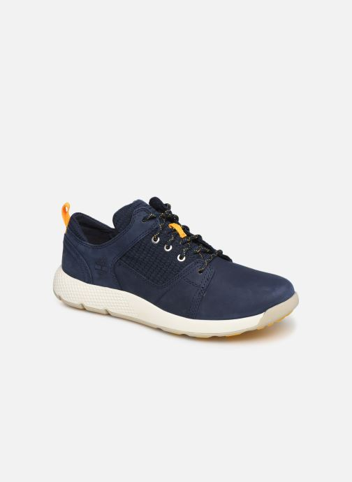 Baskets Timberland FlyRoam L/F Oxford Bleu vue détail/paire