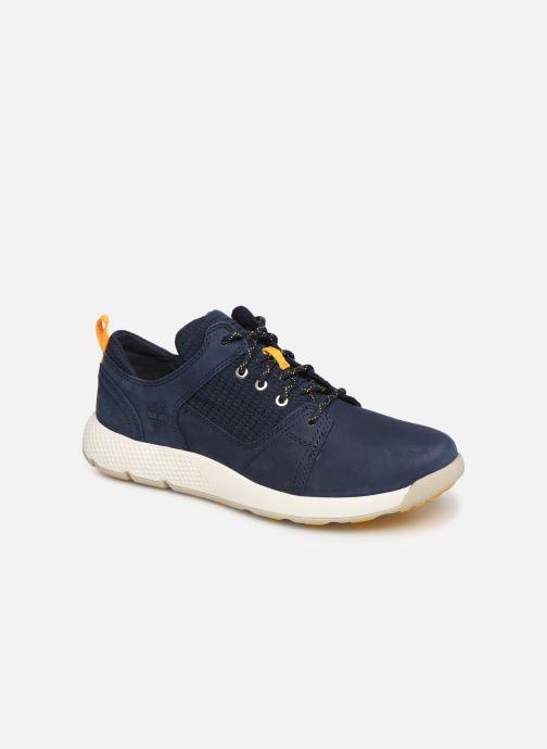 0ecf6220eac Sneakers Timberland FlyRoam L/F Oxford Blå detaljeret billede af skoene