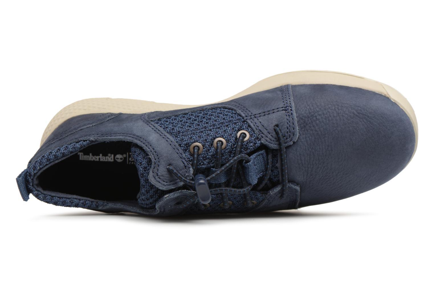 Sneaker Timberland FlyRoam L/F Oxford blau ansicht von links