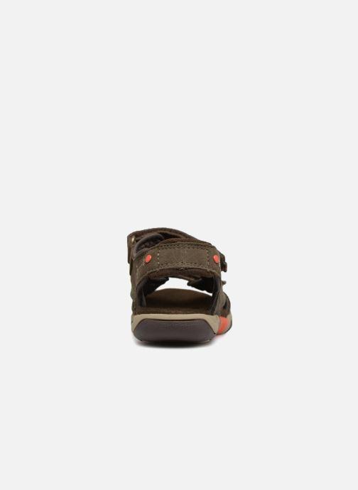 Sandales et nu-pieds Timberland Park Hopper L/F 2 Strap Marron vue droite