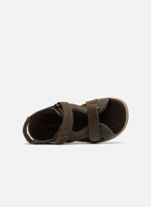 Sandales et nu-pieds Timberland Park Hopper L/F 2 Strap Marron vue gauche