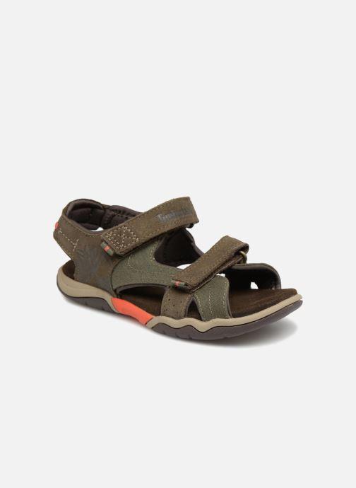 Sandales et nu-pieds Timberland Park Hopper L/F 2 Strap Marron vue détail/paire