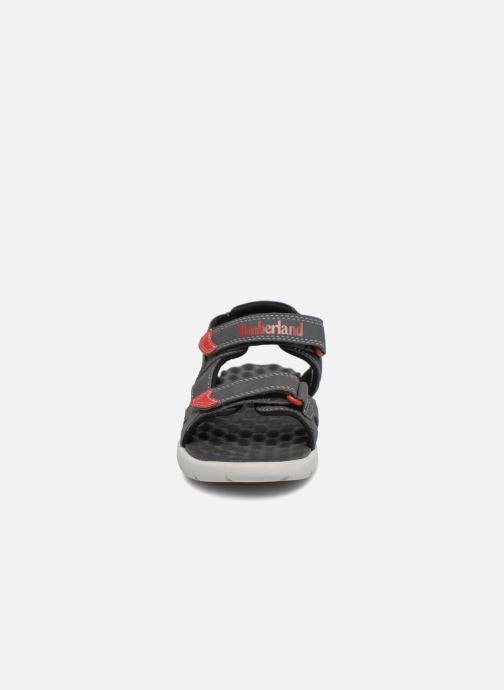 Sandales et nu-pieds Timberland Perkins Row 2-Strap Gris vue portées chaussures