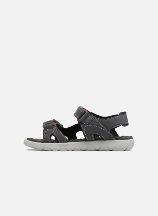 Sandales et nu-pieds Timberland Perkins Row 2-Strap Gris vue face