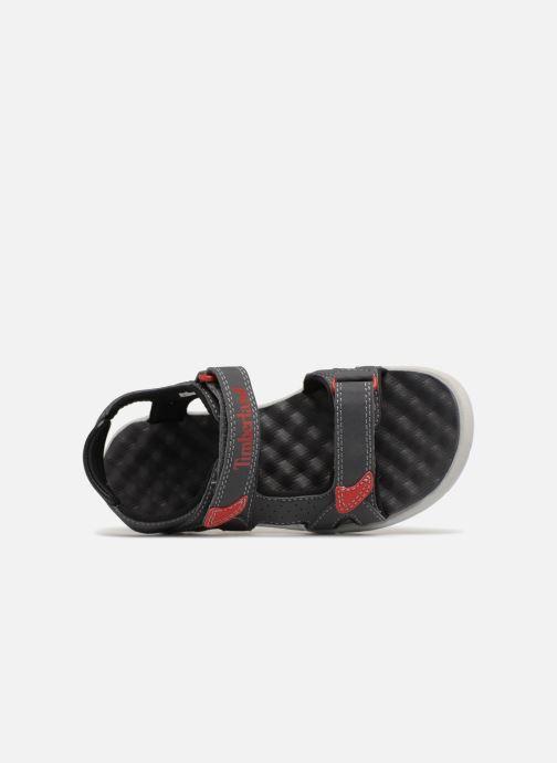 Sandales et nu-pieds Timberland Perkins Row 2-Strap Gris vue gauche