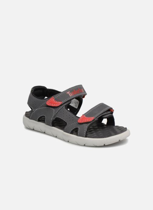 Sandales et nu-pieds Timberland Perkins Row 2-Strap Gris vue détail/paire