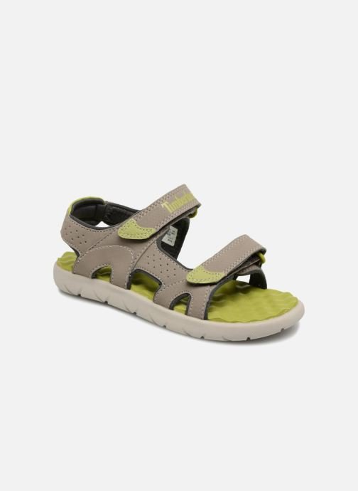 Sandals Timberland Perkins Row 2-Strap Grey detailed view/ Pair view