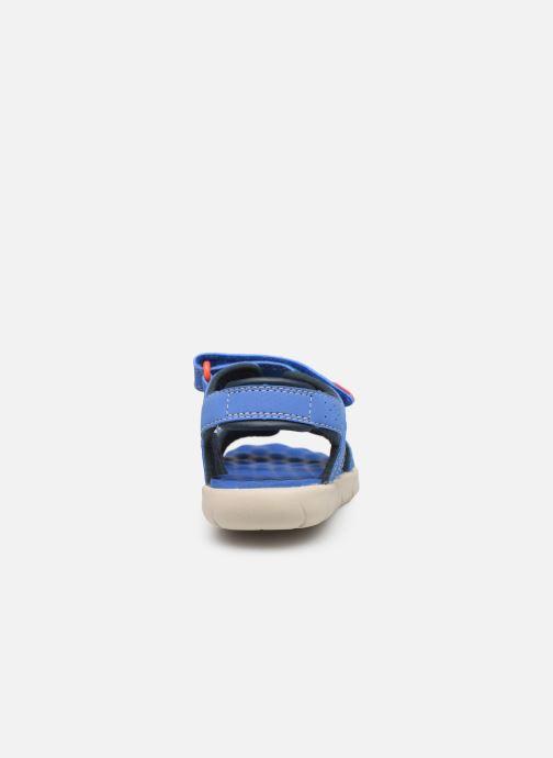 Sandales et nu-pieds Timberland Perkins Row 2-Strap Bleu vue droite