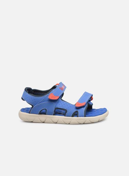 Sandales et nu-pieds Timberland Perkins Row 2-Strap Bleu vue derrière
