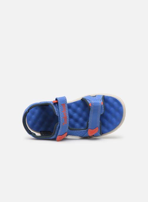 Sandales et nu-pieds Timberland Perkins Row 2-Strap Bleu vue gauche