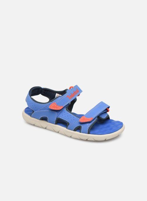 Sandales et nu-pieds Timberland Perkins Row 2-Strap Bleu vue détail/paire