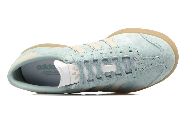 Baskets Adidas Originals HAMBURG W Bleu vue gauche
