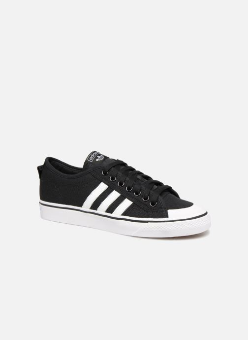 Baskets adidas originals NIZZA Gris vue détail/paire