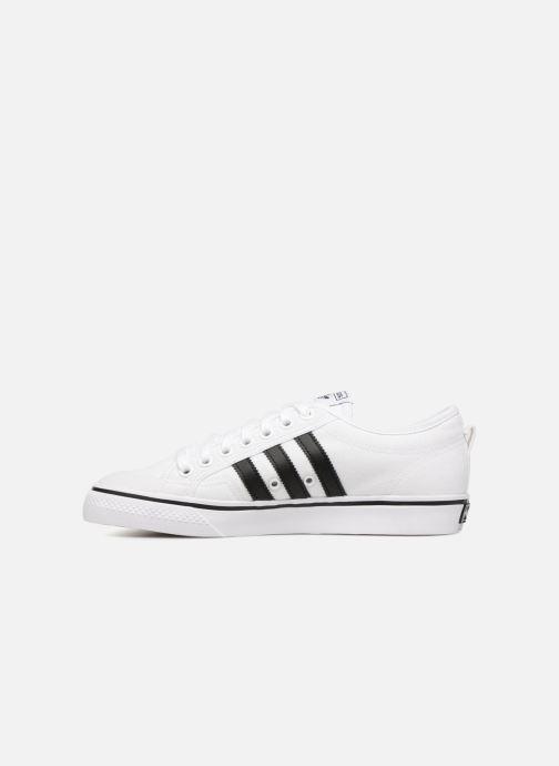 Sneakers adidas originals NIZZA Wit voorkant
