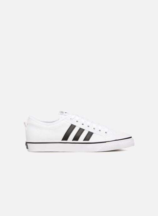 Sneakers adidas originals NIZZA Wit achterkant