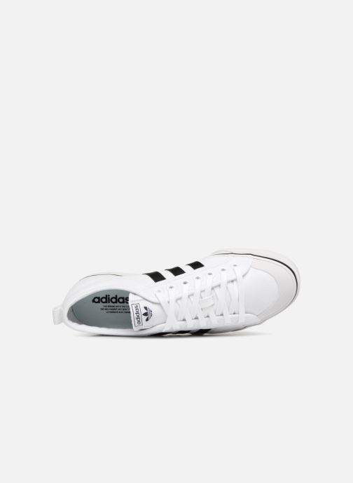 Trainers Adidas Originals NIZZA White view from the left