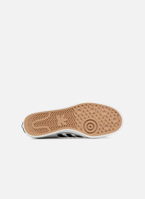 Baskets adidas originals NIZZA Blanc vue haut