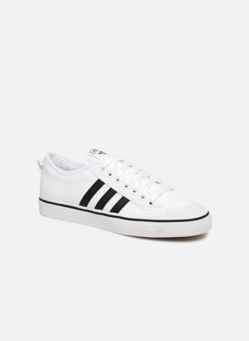 Trainers Adidas Originals NIZZA White detailed view/ Pair view