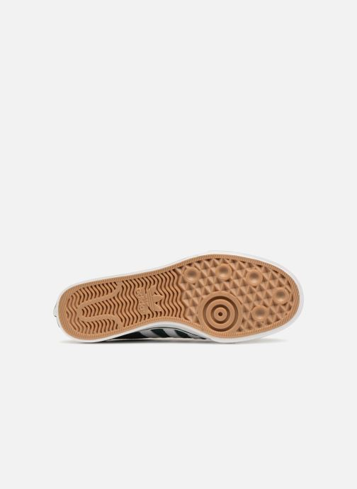 Baskets Adidas Originals NIZZA Vert vue haut