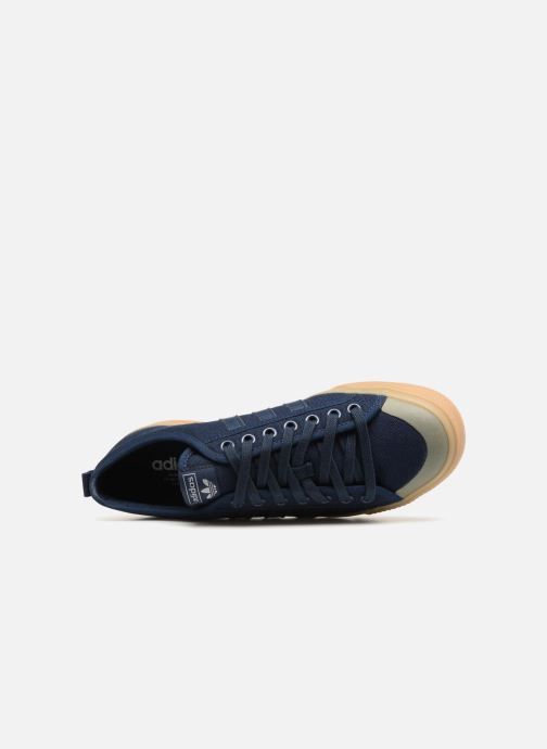 Sneaker Adidas Originals NIZZA blau ansicht von links