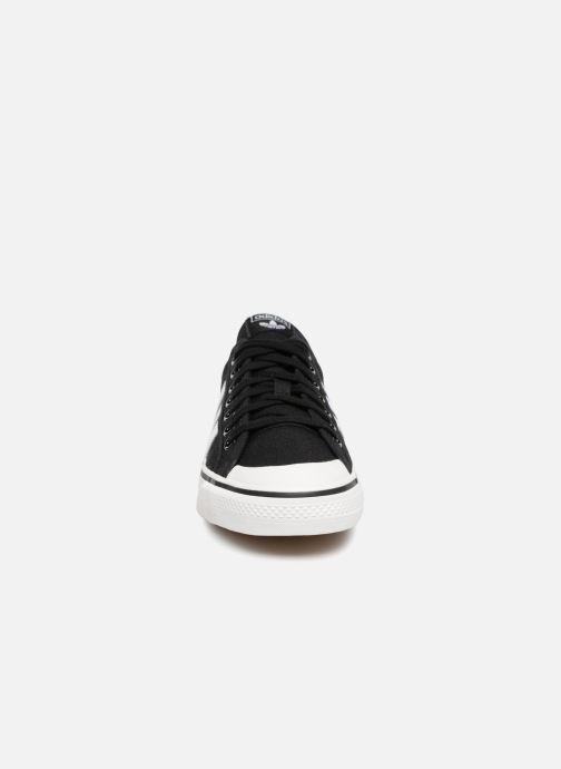 Sneaker adidas originals NIZZA schwarz schuhe getragen