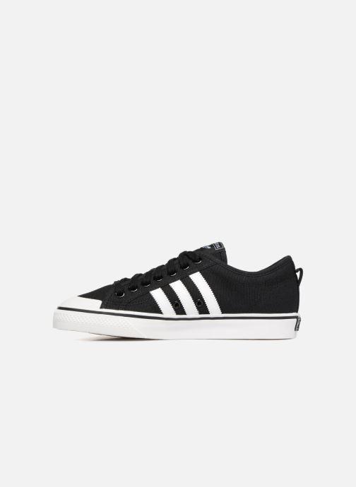 Sneaker adidas originals NIZZA schwarz ansicht von vorne