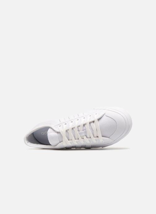 Sneaker adidas originals NIZZA weiß ansicht von links