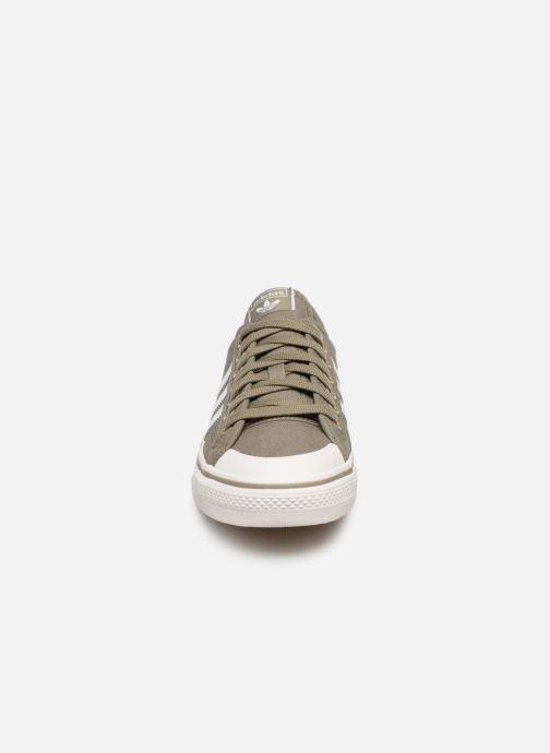 Baskets adidas originals NIZZA Vert vue portées chaussures