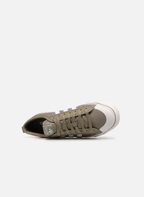 Trainers adidas originals NIZZA Green view from the left