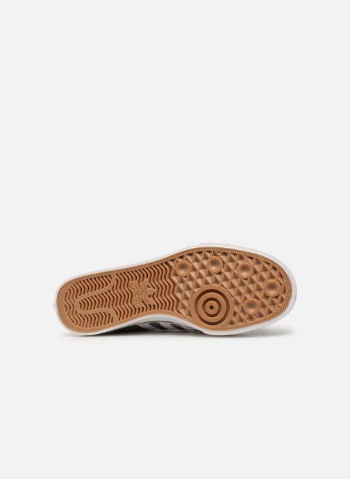 Baskets Adidas Originals NIZZA Vert vue haut