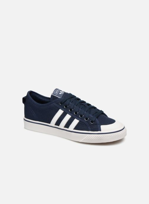 Baskets adidas originals NIZZA Noir vue détail/paire