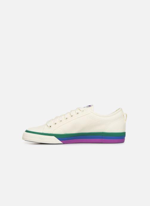 Sneaker adidas originals NIZZA weiß ansicht von vorne