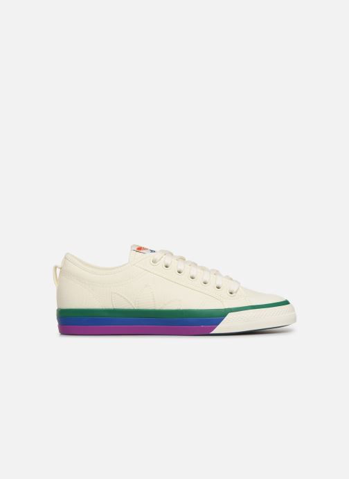 Sneakers adidas originals NIZZA Vit bild från baksidan