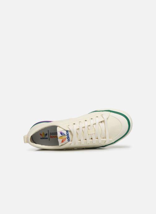 Sneakers adidas originals NIZZA Vit bild från vänster sidan