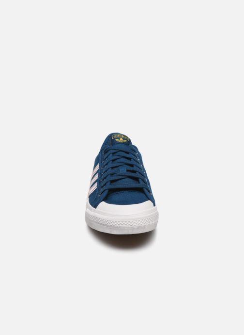 Sneaker adidas originals NIZZA blau schuhe getragen