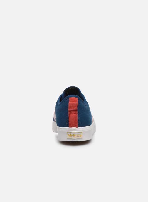 Sneaker adidas originals NIZZA blau ansicht von rechts