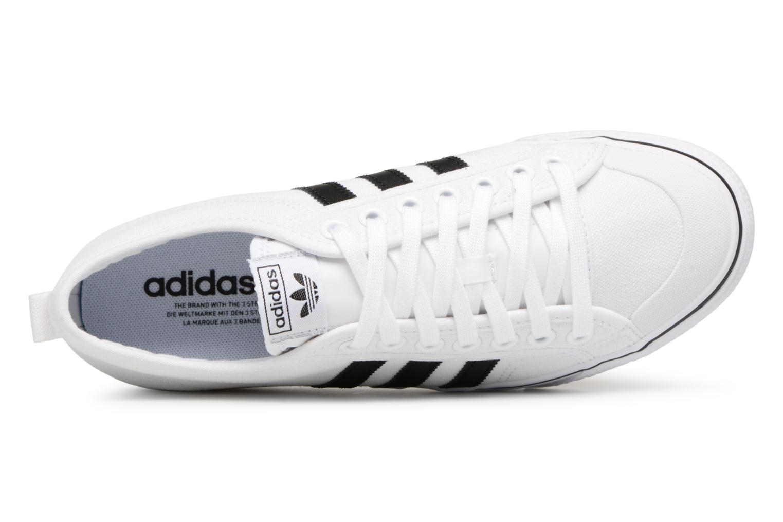 Baskets Adidas Originals NIZZA Blanc vue gauche