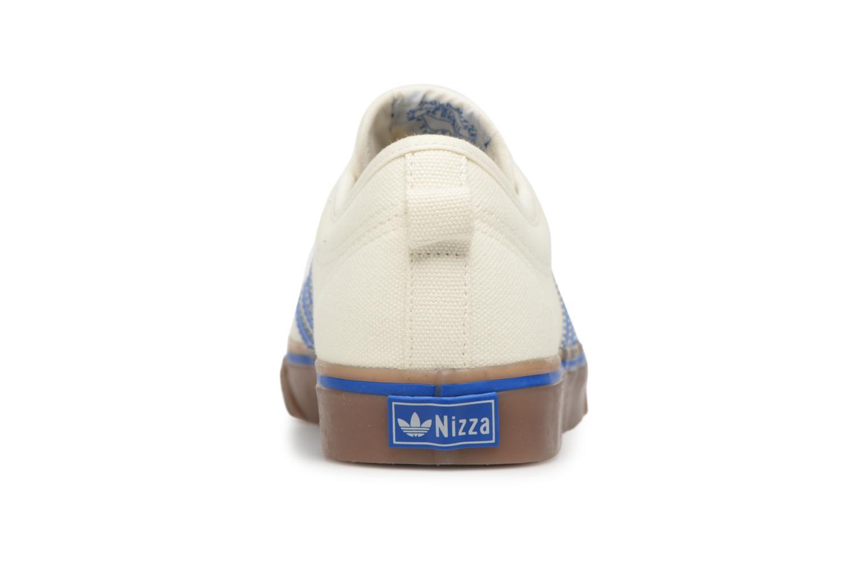 Baskets Adidas Originals NIZZA Blanc vue droite