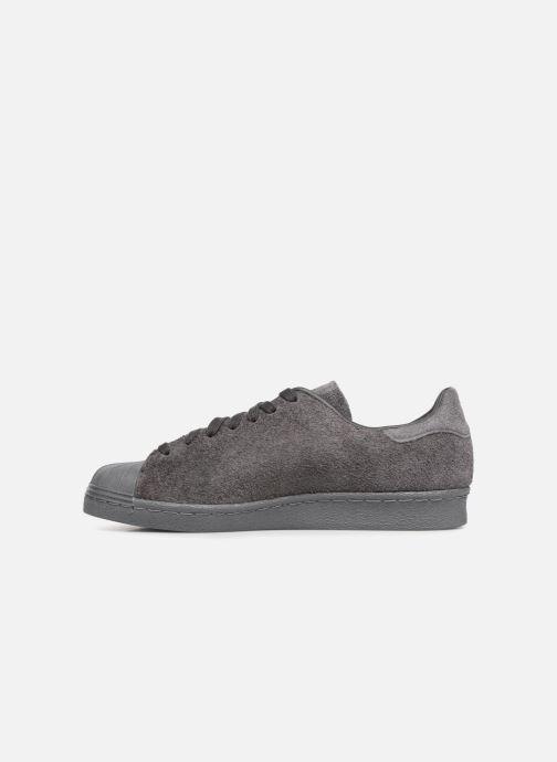 Sneakers Adidas Originals SUPERSTAR 80s CLEAN Grigio immagine frontale